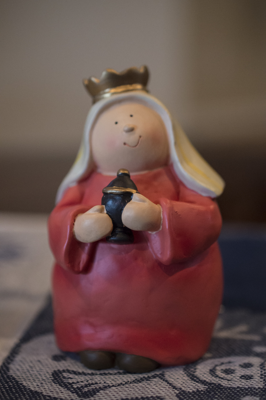 Hallmark nativity scene