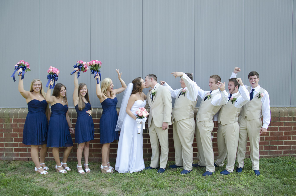 How to post large groups and wedding parties | Maria Grace Photography