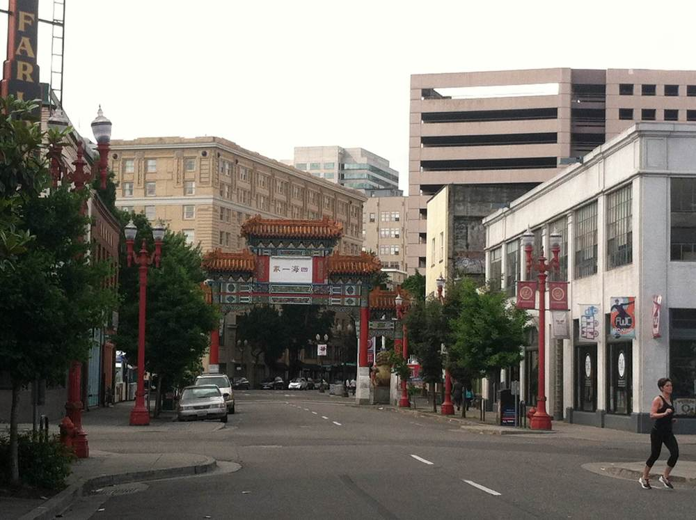 Chinatown in downtown Portland, Oregon | Maria Grace Photography
