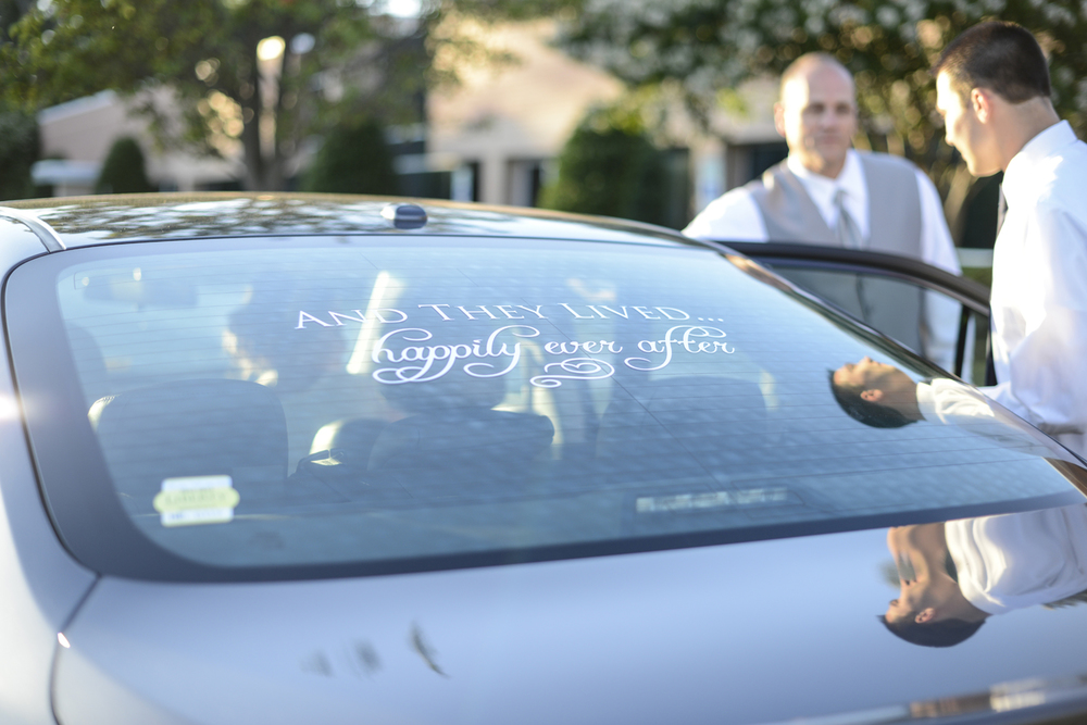 and they lived happily ever after car decal