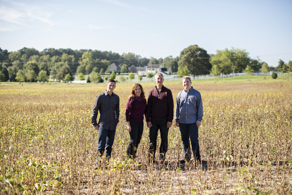 Windsor Castle Park fall family portraits in Smithfield, Virginia