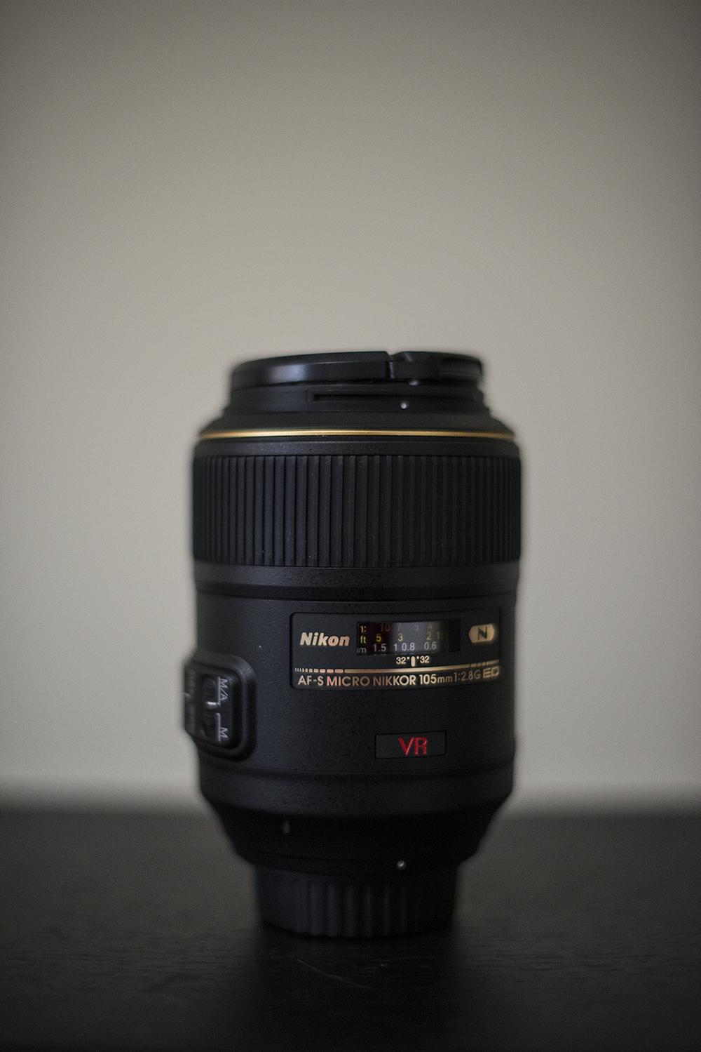 Nikon 105mm f/2.8 Macro Lens