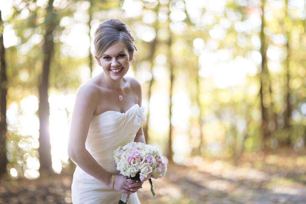 Cute, fun fall bridal portraits in Virginia