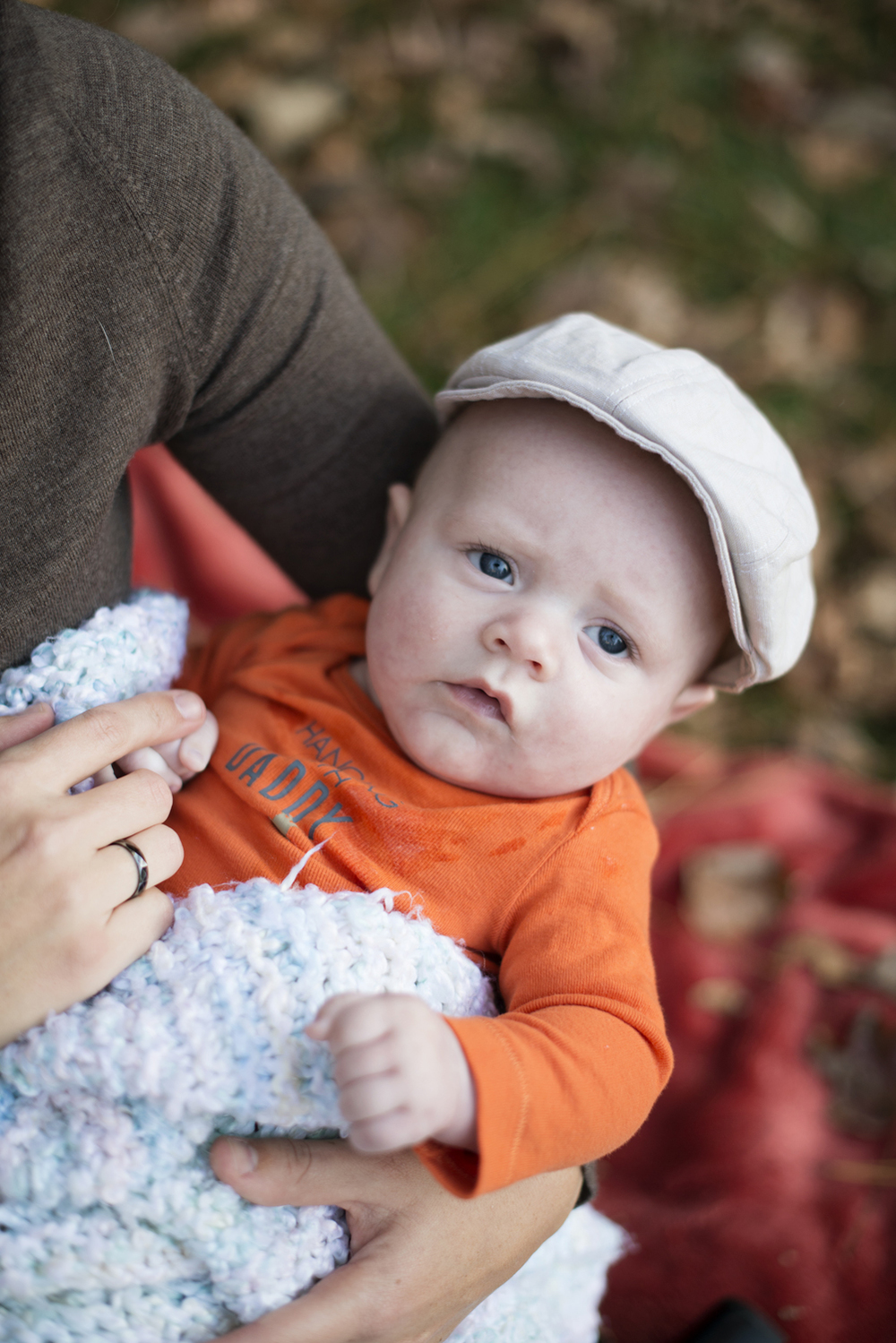 Baby pictures with newsboy cap