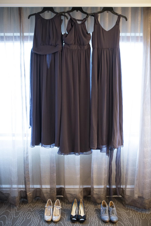 Purple lavender bridesmaid dresses