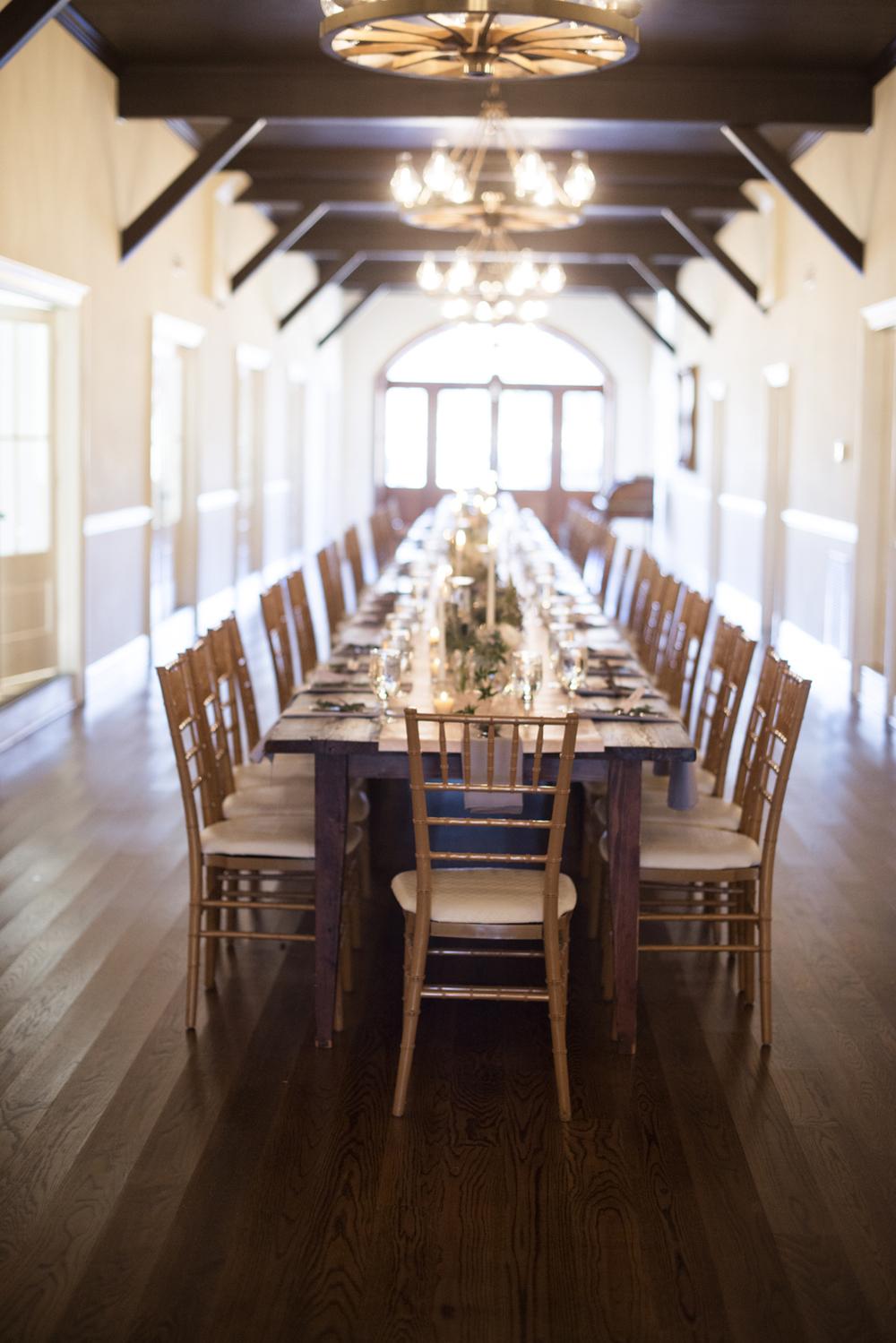 Jane Austen themed wedding reception