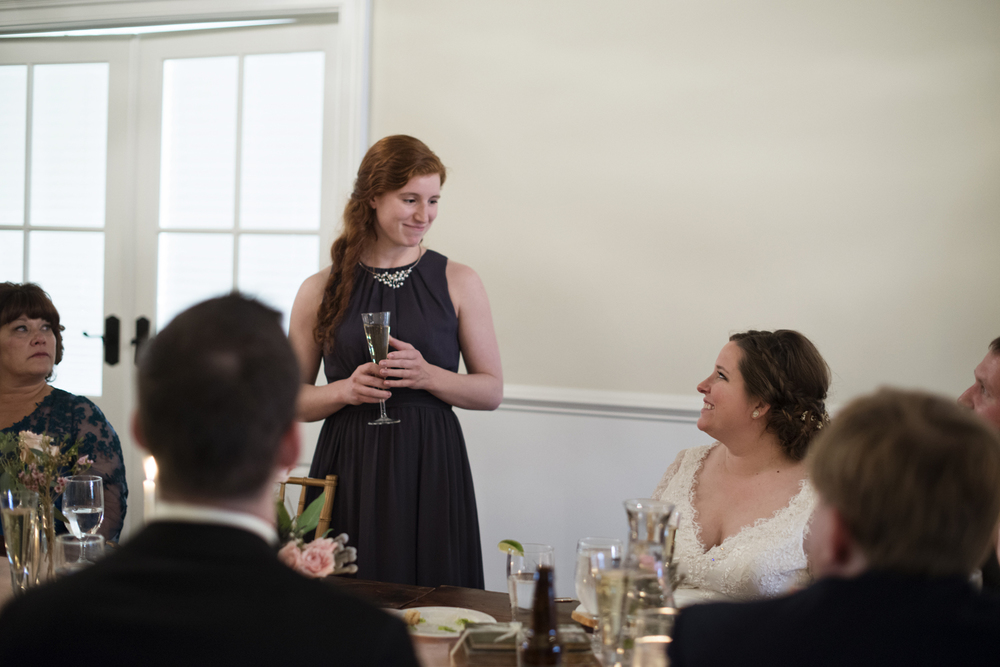 Maid of honor speech at a wedding