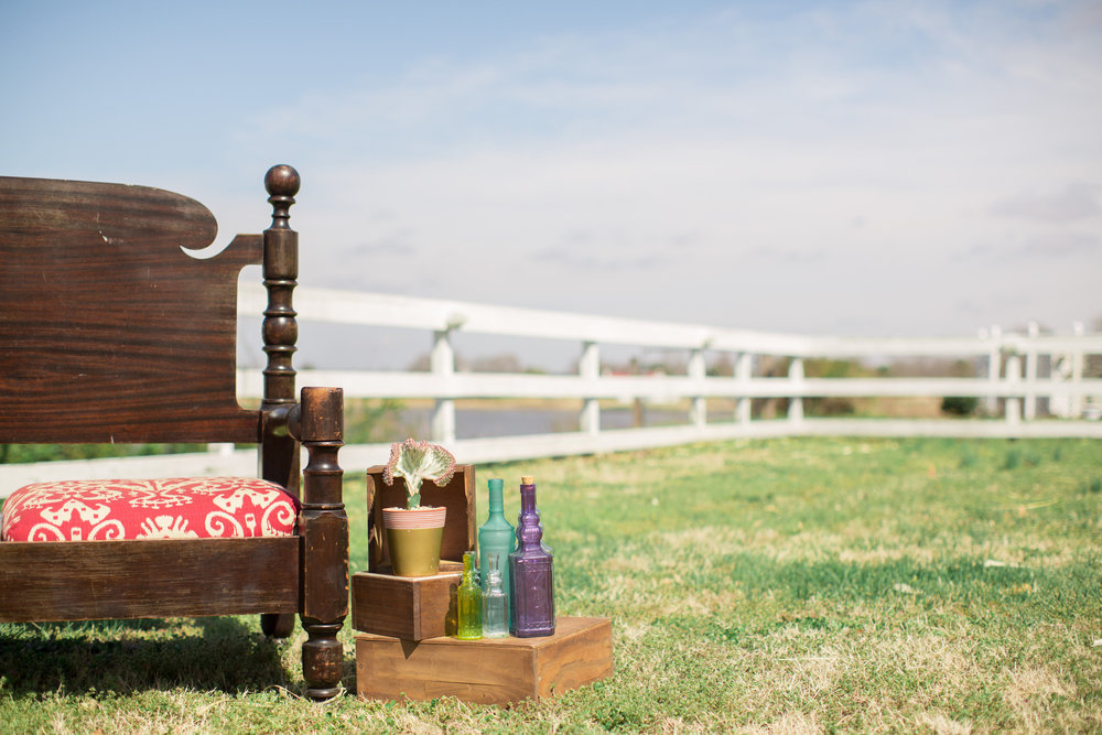 Cinco de Mayo Themed Wedding | Furniture rentals & reception decor