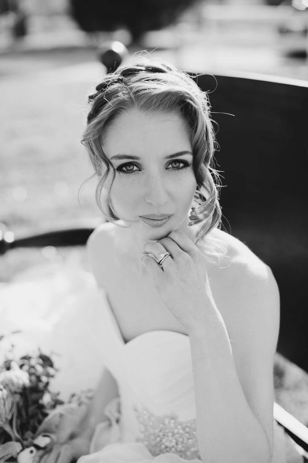Cinco de Mayo Themed Wedding | Bridal portraits | Black and white