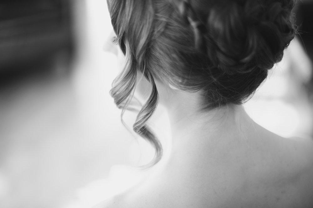 Cinco de Mayo Themed Wedding | Bridal portraits | Black and white