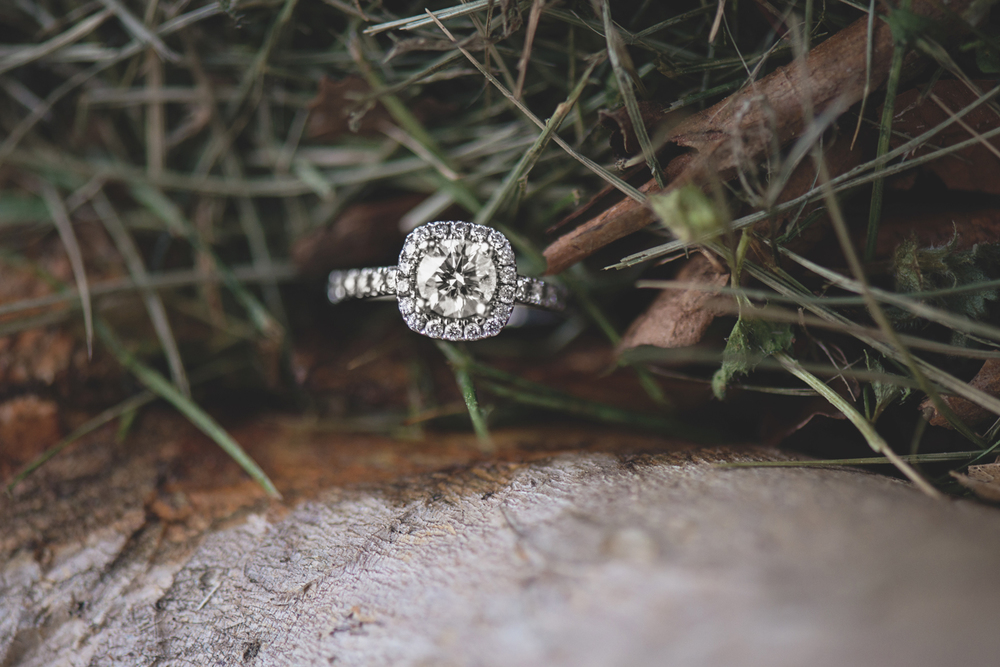 Engagement ring photo inspiration macro photography