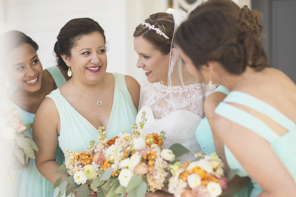 Inn at Warner Hall Wedding Pictures |   Bridal party