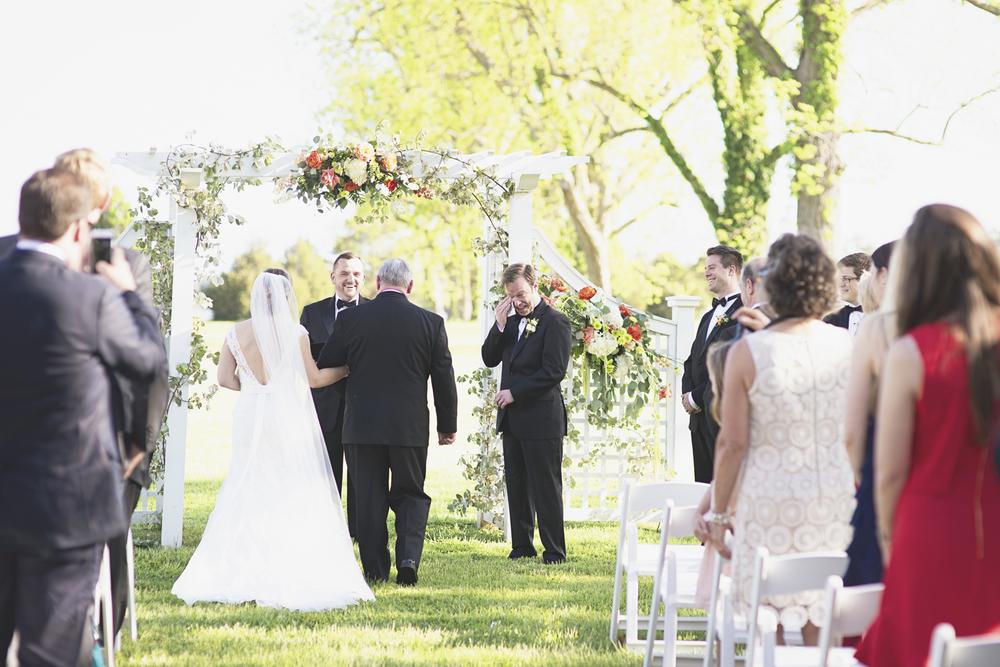 Inn at Warner Hall Wedding Photography | Wedding ceremony