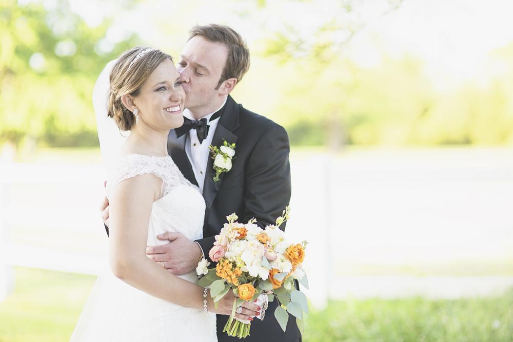 Inn at Warner Hall Wedding Photography | Bride & groom portraits