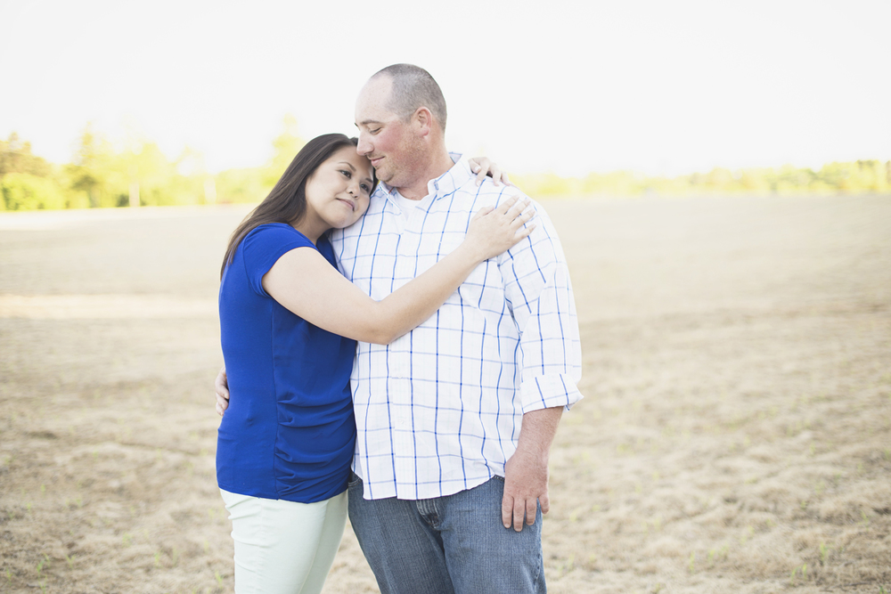 Windsor Castle Park Engagement Session in Smithfield, Virginia | Wheat field