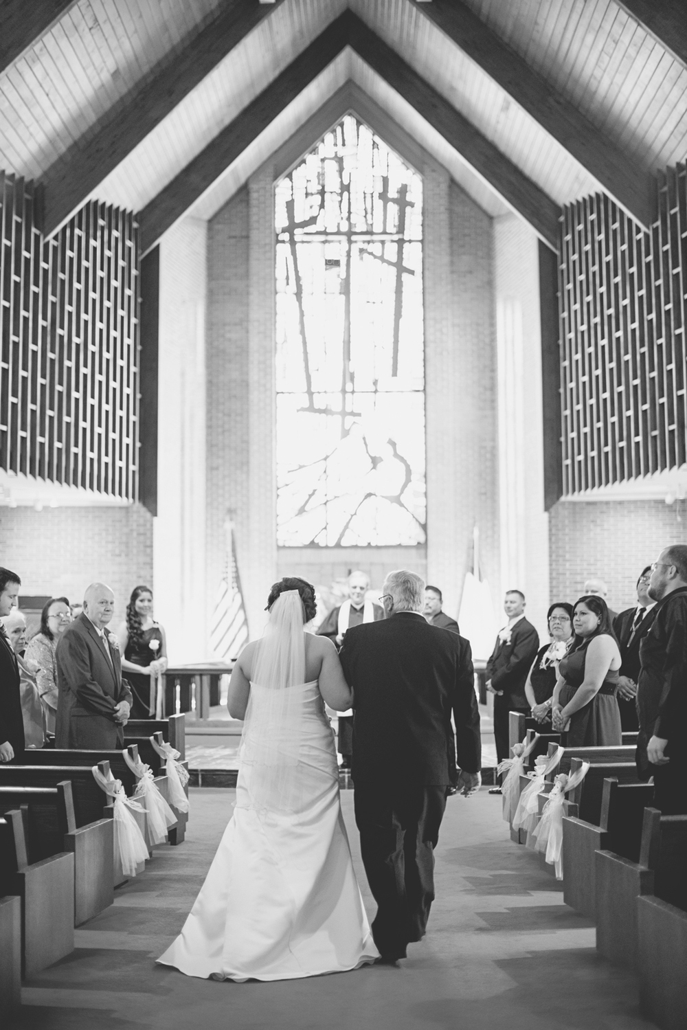 Tabernacle UMC Wedding in Poquoson, Virginia |  Wedding ceremony