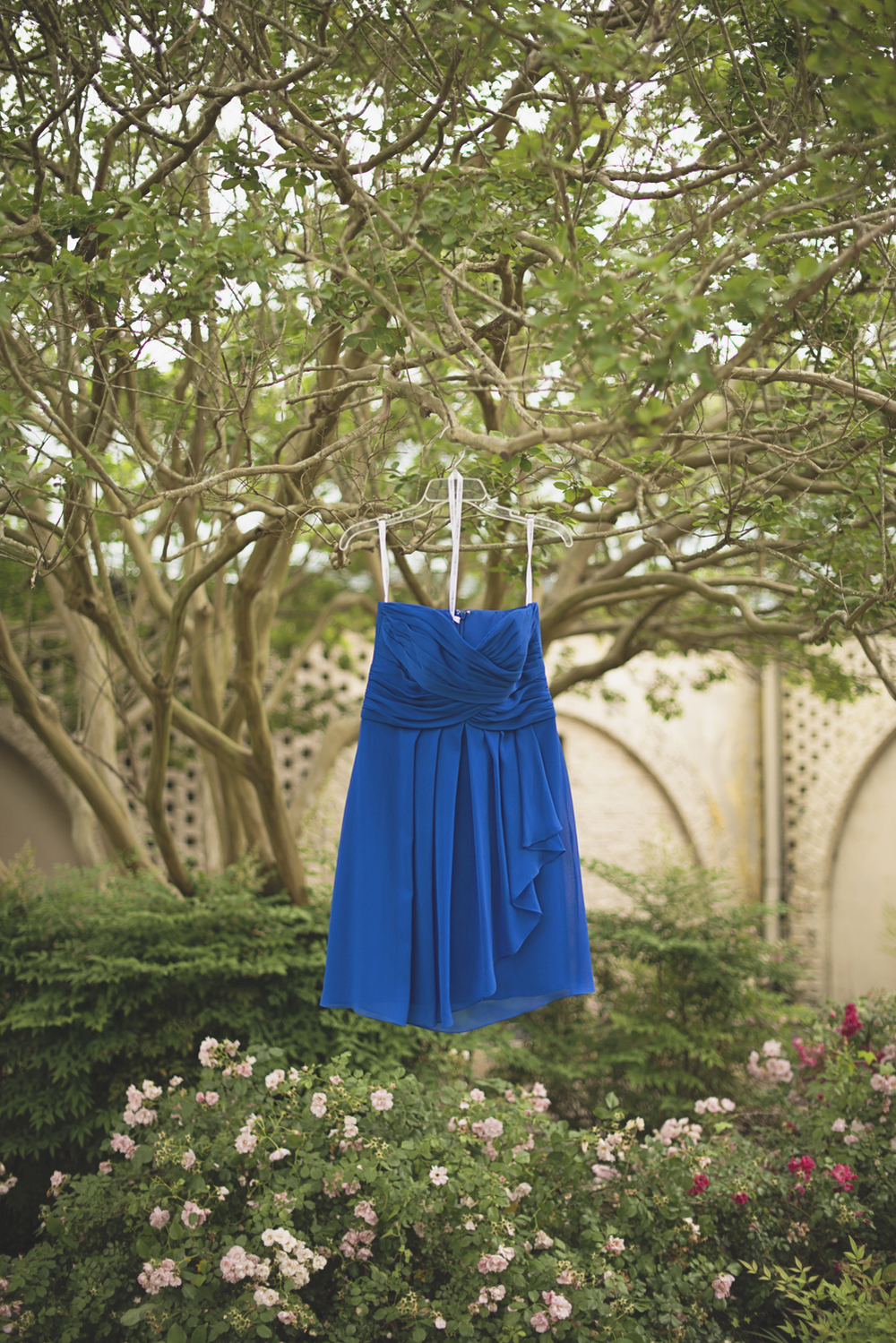 Mariners Museum Wedding | Newport News, Virginia |  Royal blue bridesmaid dress
