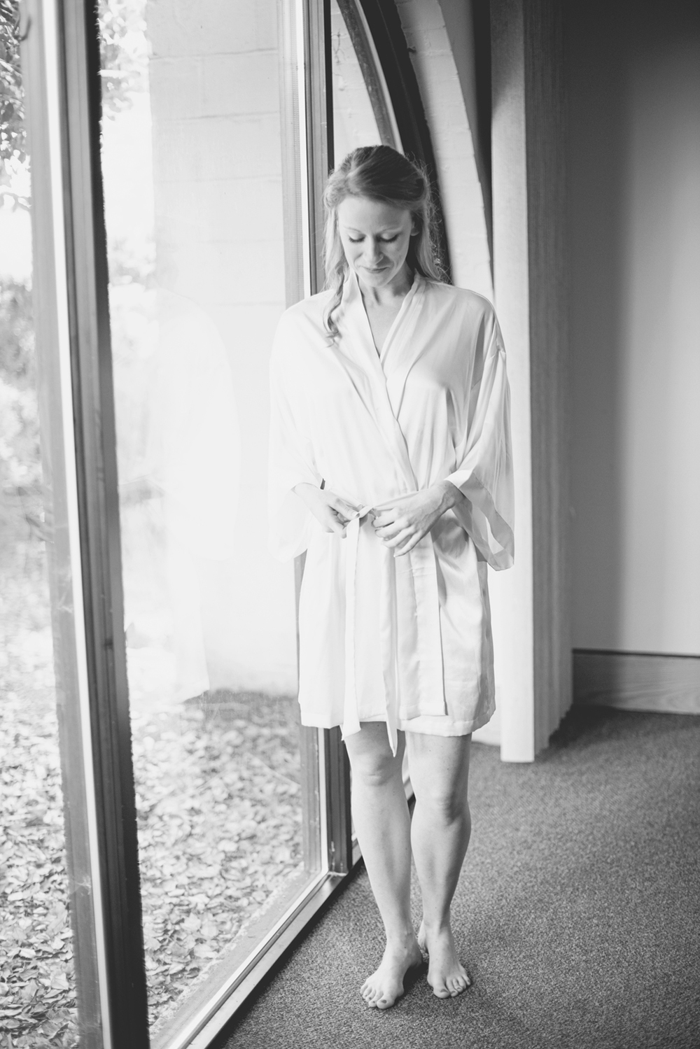 Mariners Museum Wedding | Newport News, Virginia |  Black & white bridal portrait