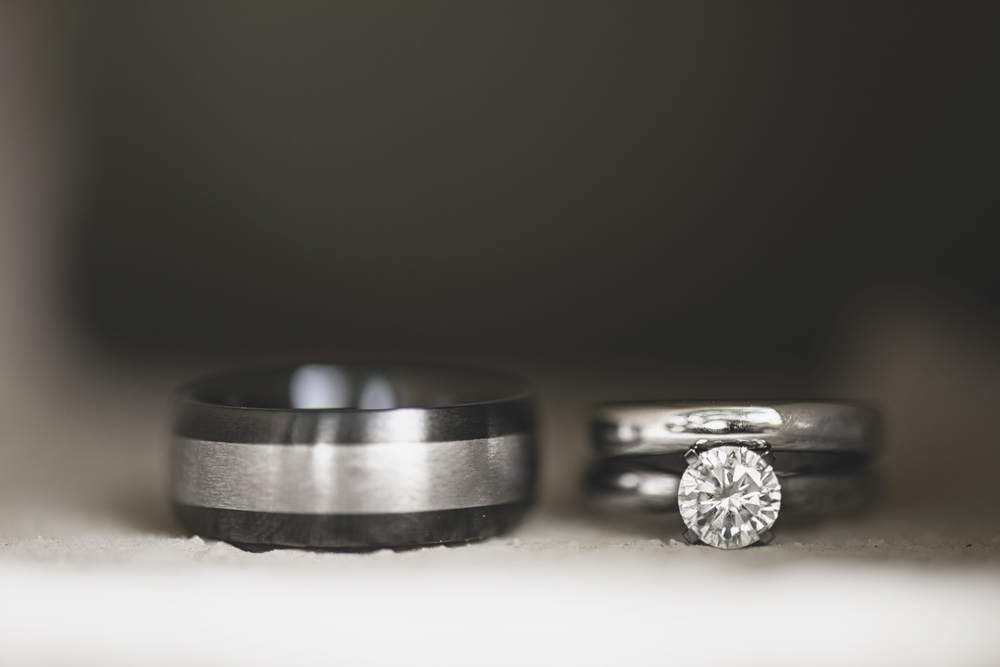 Mariners Museum Wedding | Newport News, Virginia |  Wedding and engagement ring shot