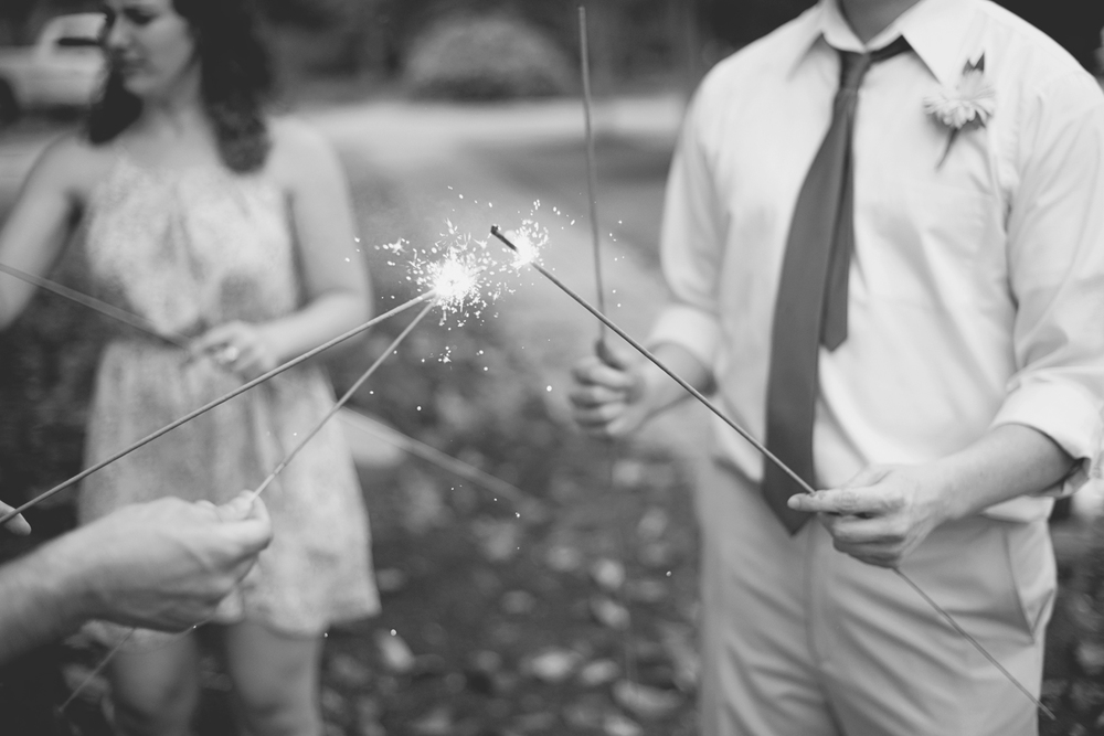 Mariners Museum Wedding | Newport News, Virginia |  Wedding sparkler exit