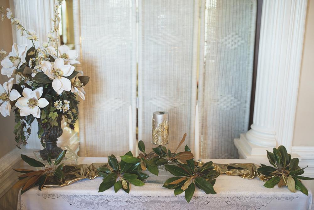 Magnolia House Inn Wedding | Hampton, Virginia Wedding | Unity candle