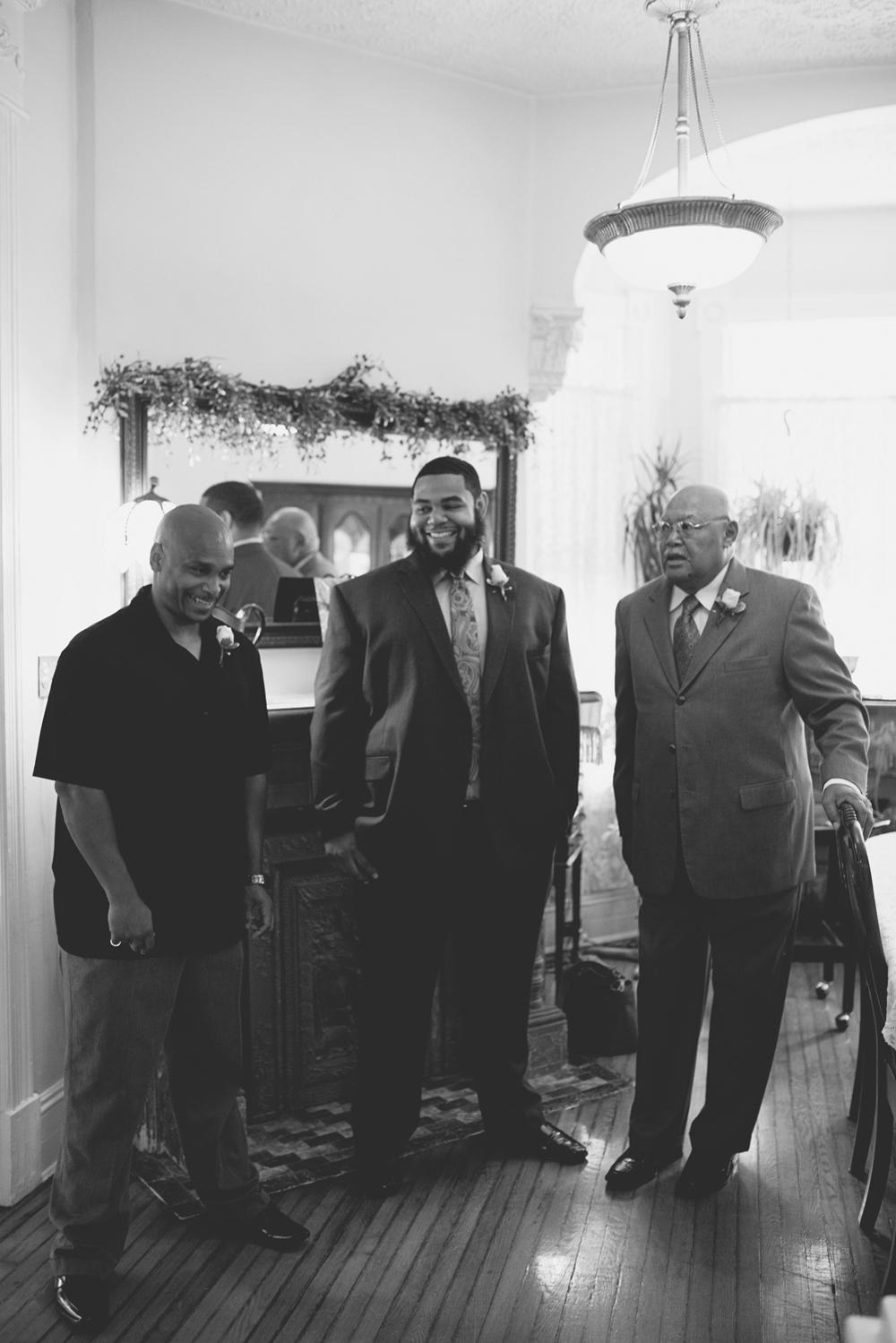 Magnolia House Inn Wedding | Hampton, Virginia Wedding | Casual groomsmen pictures