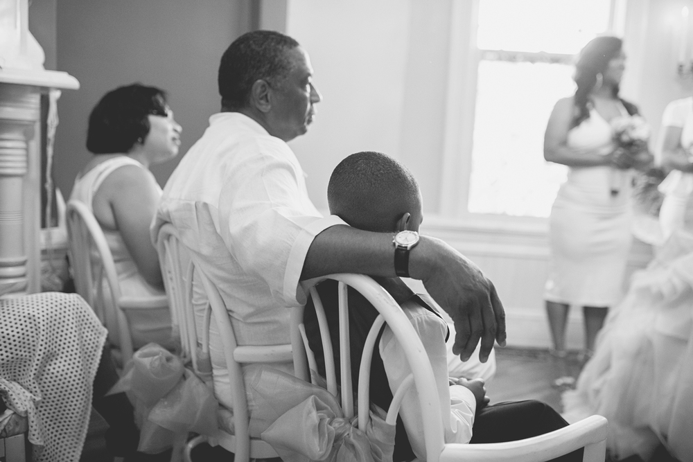 Magnolia House Inn Wedding | Hampton, Virginia Wedding | Wedding ceremony