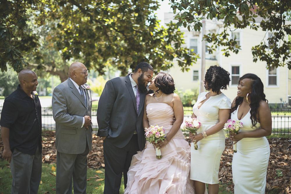 Magnolia House Inn Wedding | Hampton, Virginia Wedding | Bridal party portraits