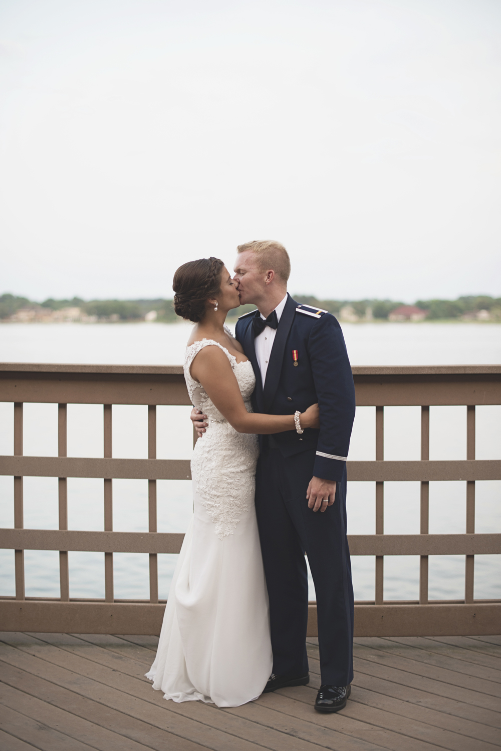 Langley Chapel Air Force Military Wedding | Hampton, Virginia | Bride & groom portraits