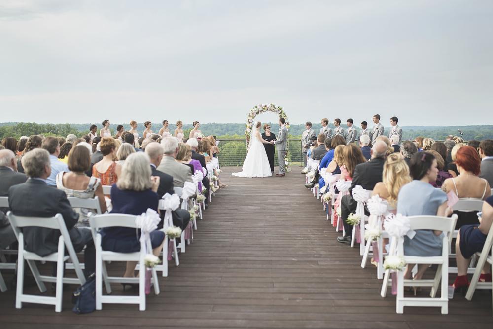Trump National Golf Club Wedding | Washington, DC Wedding | Wedding ceremony