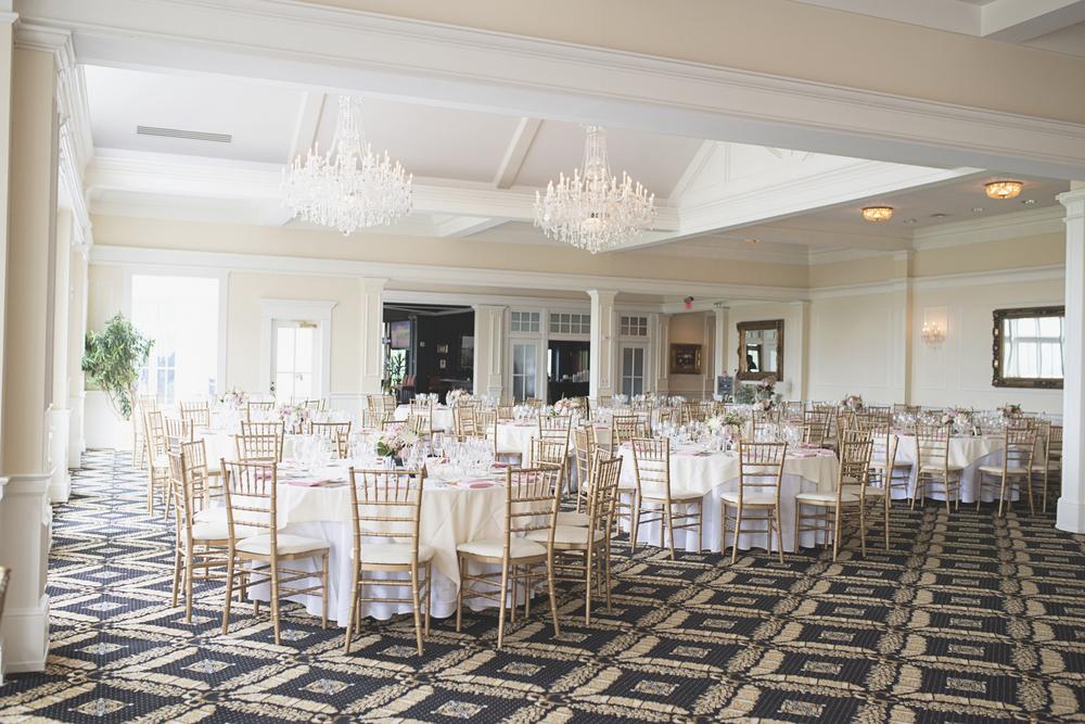 Trump National Golf Club Wedding | Washington, DC Wedding | Wedding reception | Chandelier