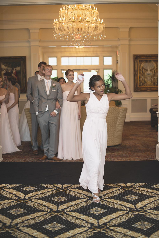 Trump National Golf Club Wedding | Washington, DC Wedding | Wedding reception | Grand entrance