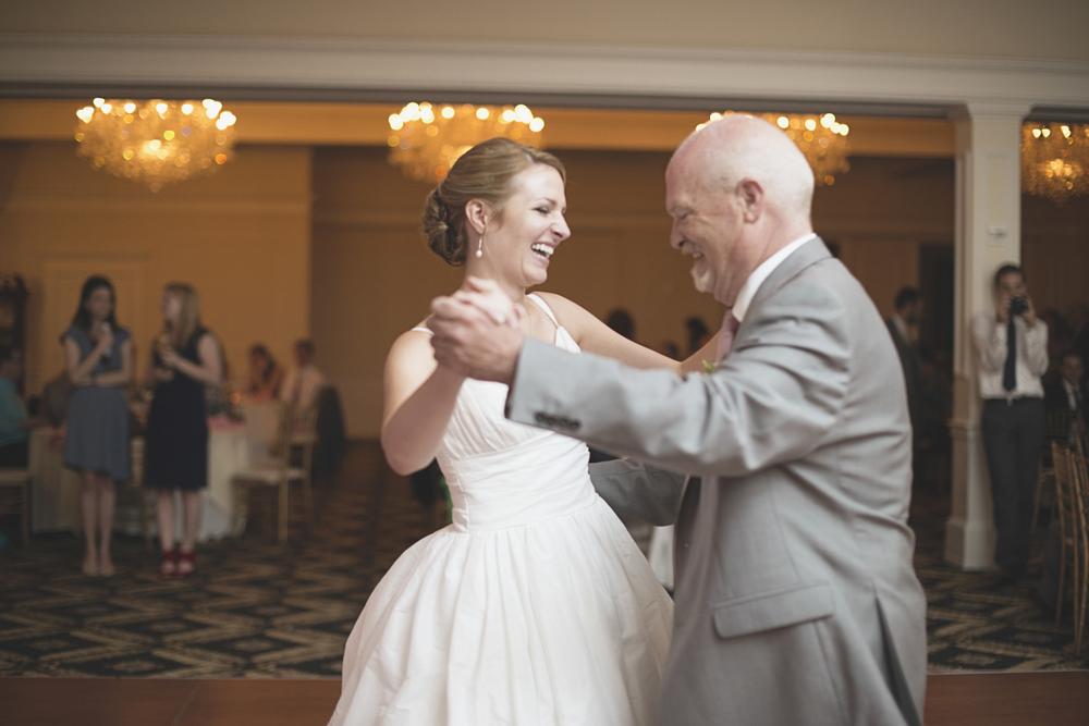 Trump National Golf Club Wedding | Washington, DC Wedding | Wedding reception | Father daughter dance