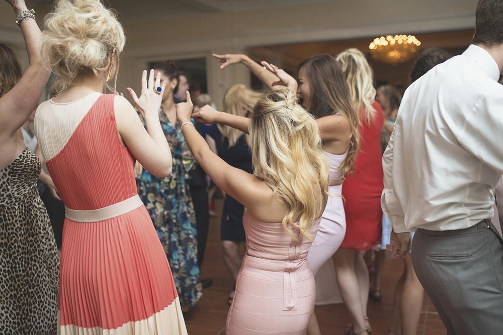 Trump National Golf Club Wedding | Washington, DC Wedding | Wedding reception | Reception guests dancing