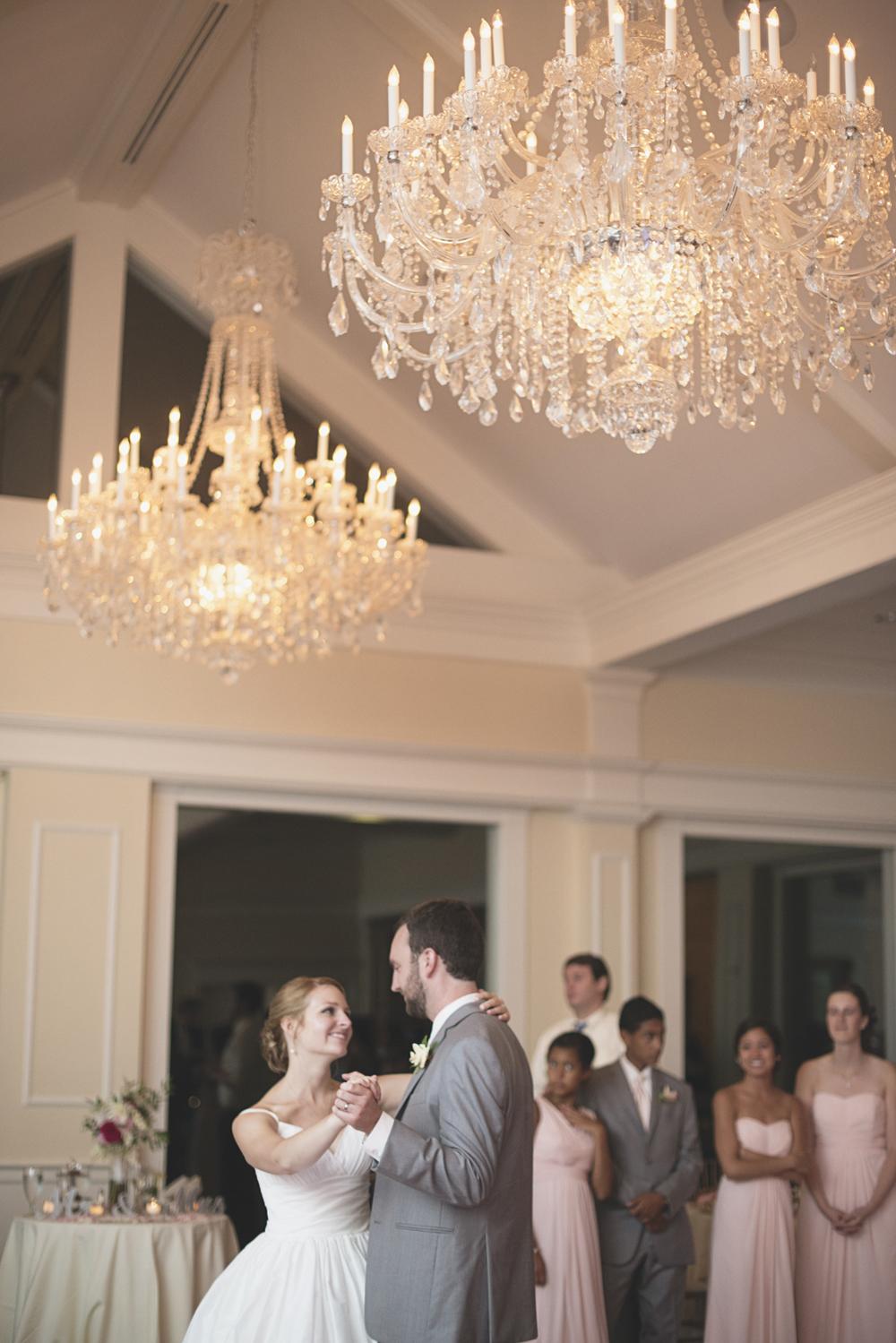 Trump National Golf Club Wedding | Washington, DC Wedding | Wedding reception | Bride & groom share a moment