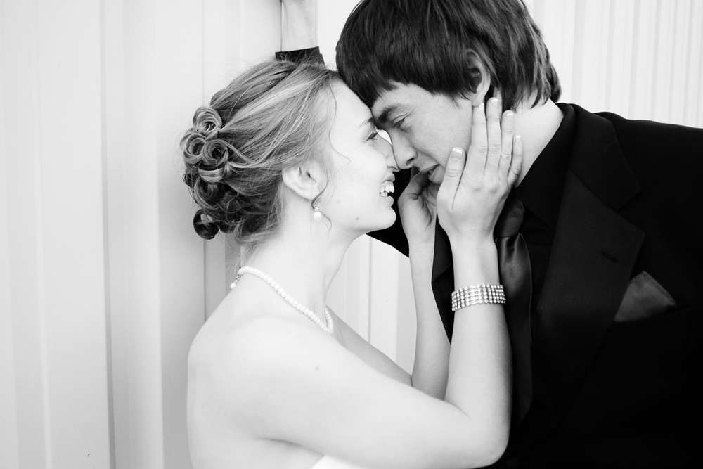 Our Wedding Day | Bride & groom portrait
