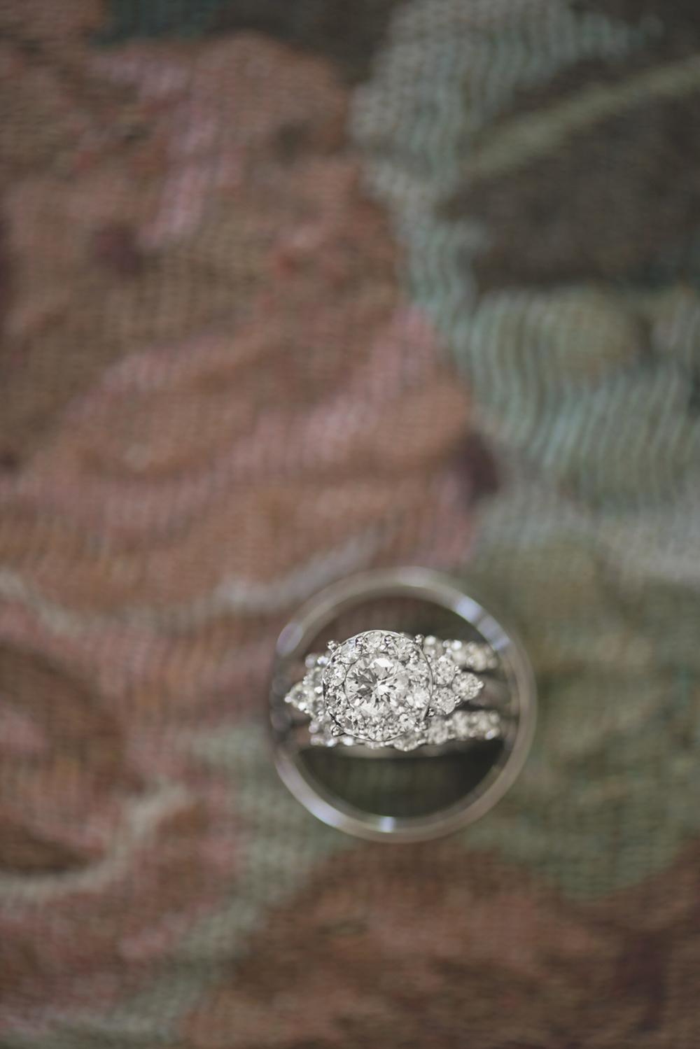 Magnolia House Inn Elopement | Hampton, Virginia Wedding Photographer | Stunning ring shot