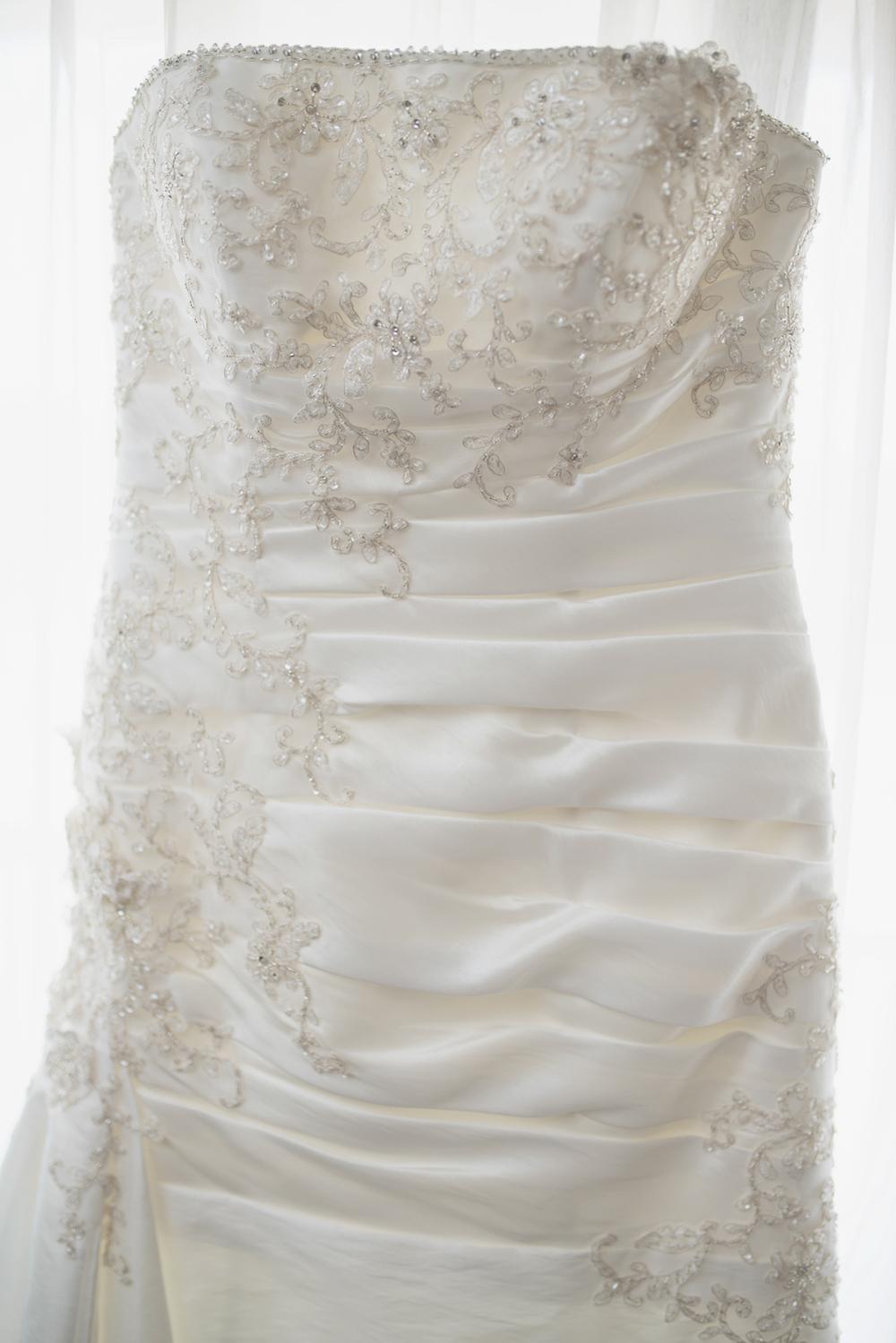 Virginia Beach Oceanfront Wedding | Wedding dress