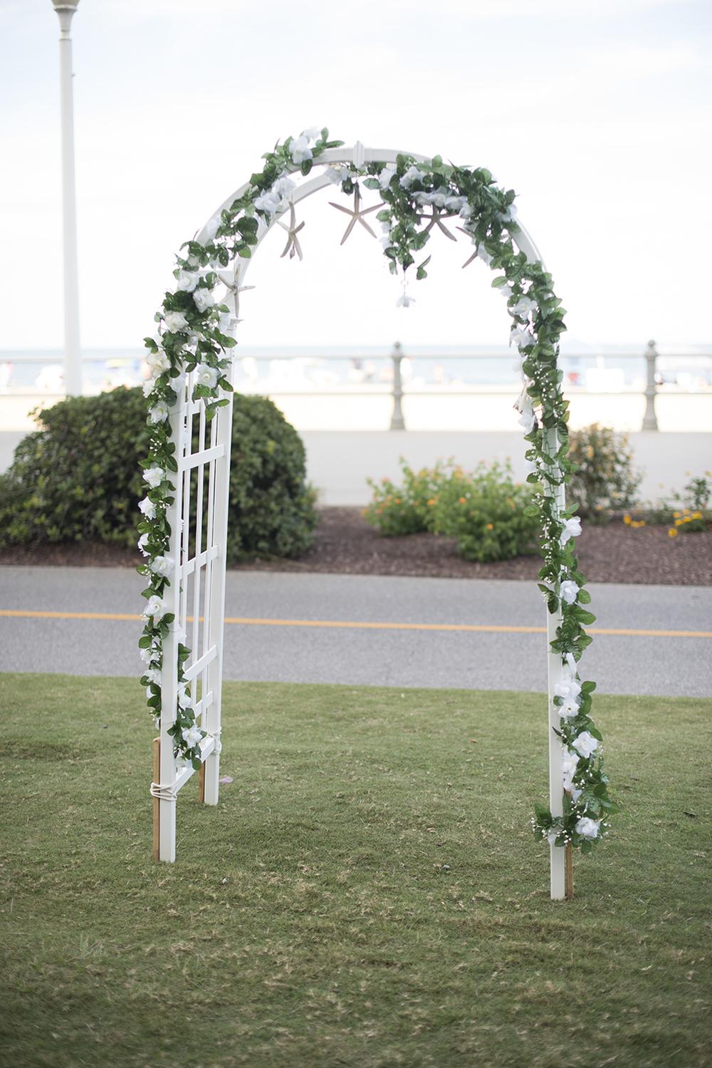 Virginia Beach Oceanfront Wedding | Wedding ceremony