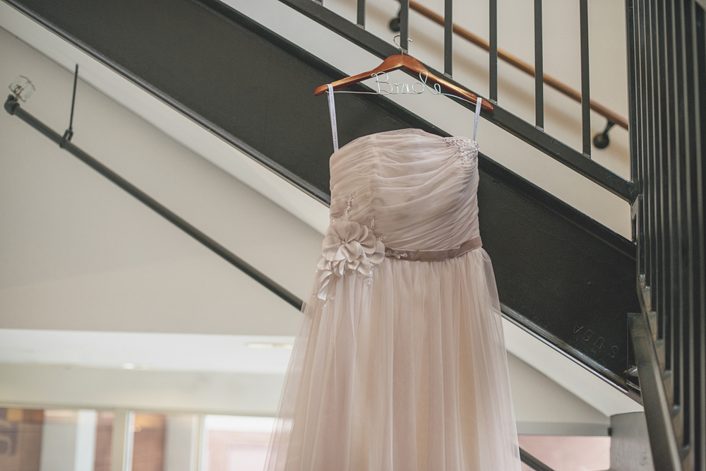 Lewis Ginter Botanic Garden Wedding | Richmond, Virginia, Wedding | Blush tulle wedding dress