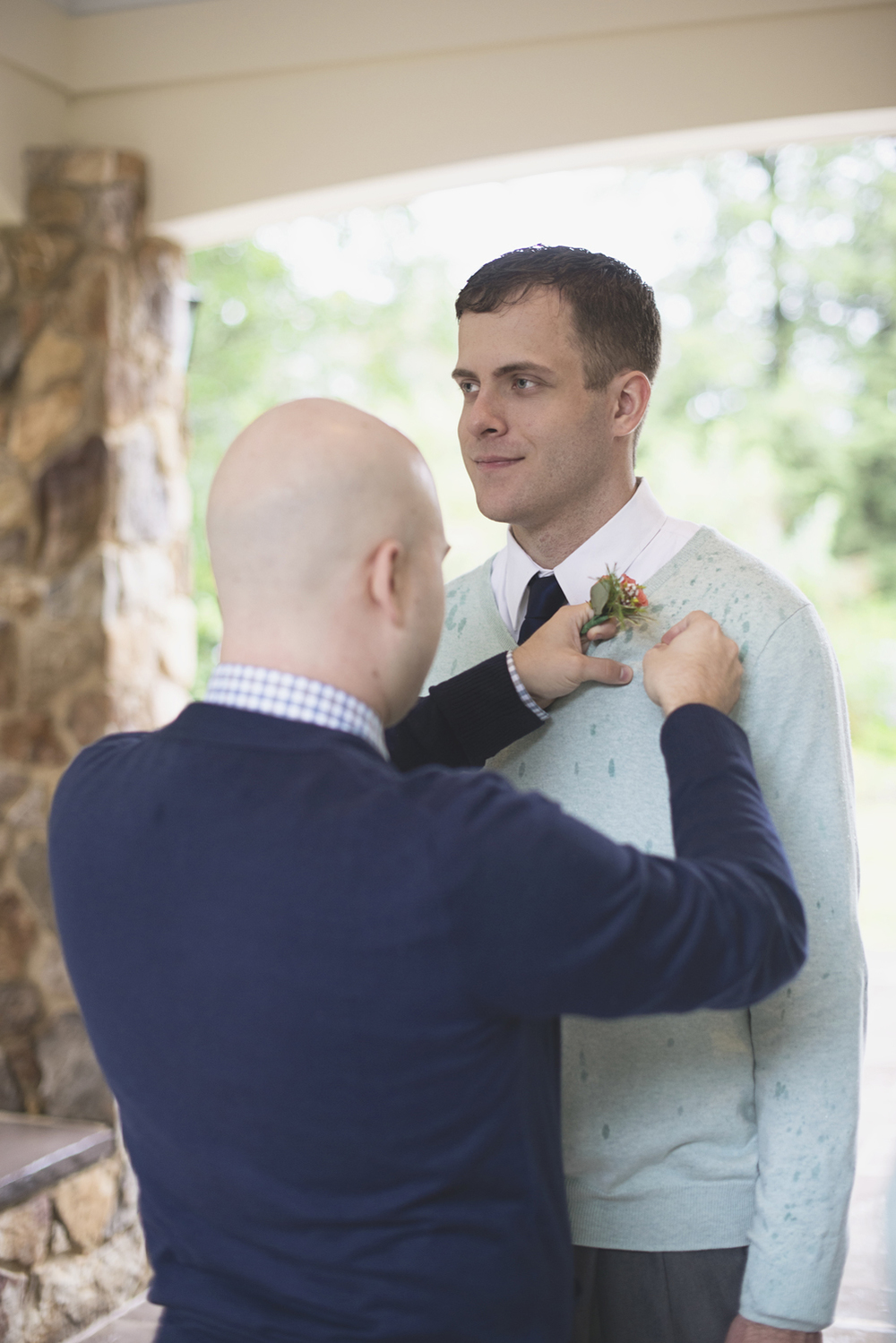 Lewis Ginter Botanic Garden Wedding | Richmond, Virginia, Wedding | Groomsmen getting ready