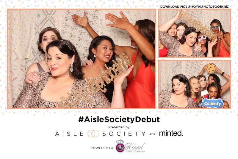 The Aisle Society Debut in New York City | Royal Photo Booth