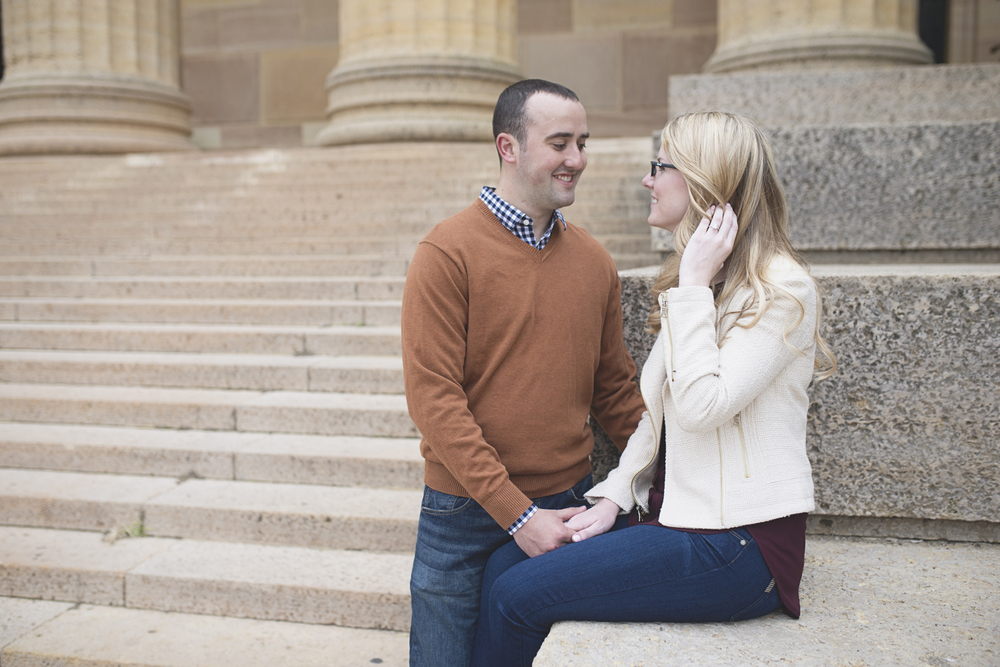 Philadelphia Art Museum Fall Engagement Session