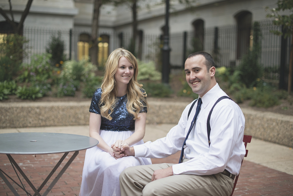 Philadelphia City Hall Engagement Session