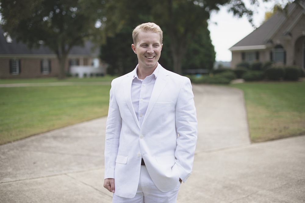 Charles City Wedding | Williamsburg Wedding Photographer | Groom at first look