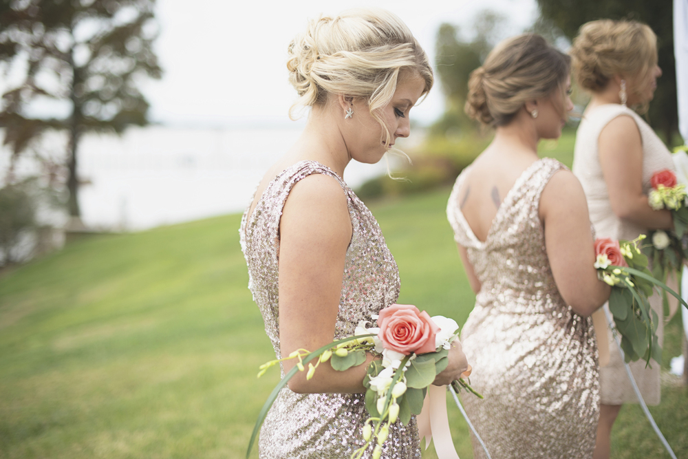 Charles City Wedding | Williamsburg Wedding Photographer | Gold bridesmaid dress