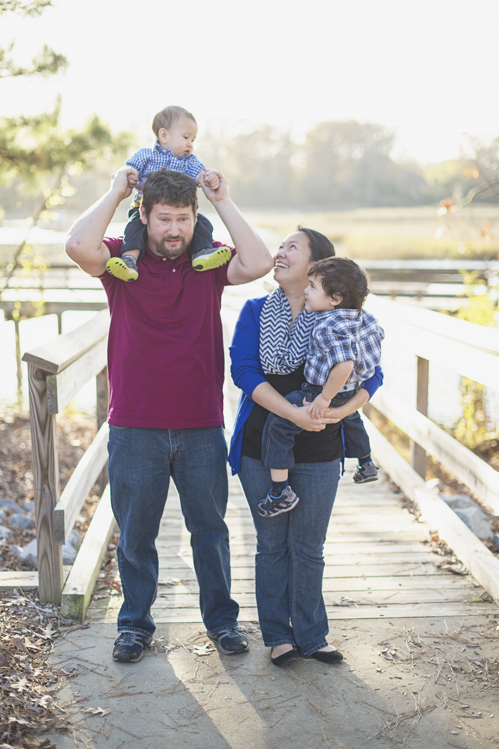 Suffolk, Virginia Family Photographer | Fall family picture ideas