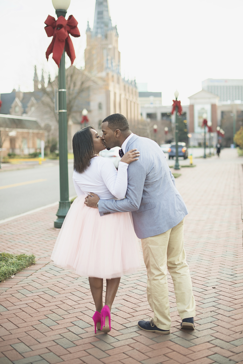 Carrie Bradshaw/Sex and the City Inspired Engagement Session in Virginia