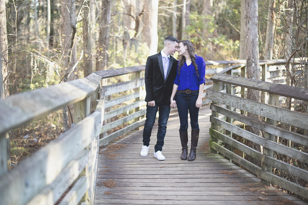 Virginia Beach Military Winter Engagement Session