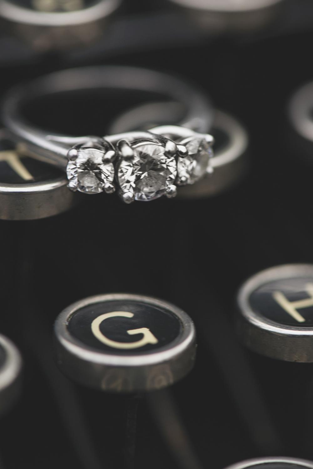 Typewriter ring shot